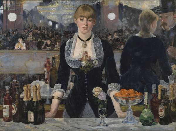 A Bar at the Folies-Bergere, 1881-82 (oil on canvas)