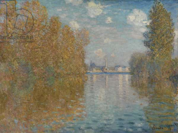 Autumn Effect at Argenteuil, 1873