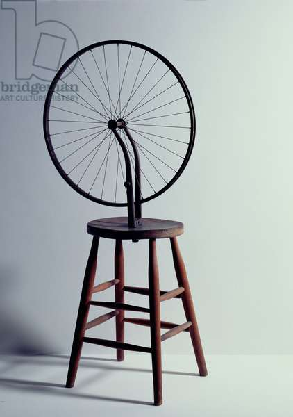 Bicycle Wheel, 1963 (mixed media)