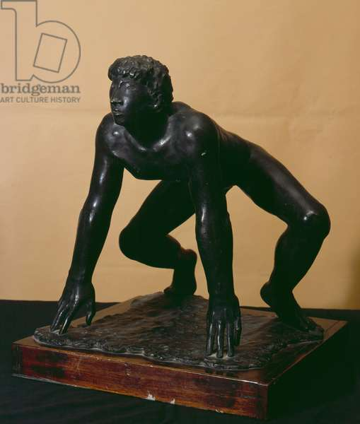The runner (bronze)