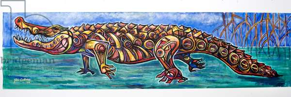 Allapattah, 2004 (acrylic on canvas)
