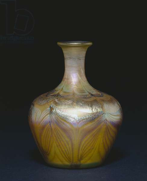 Vase, c.1894 (favrile glass)