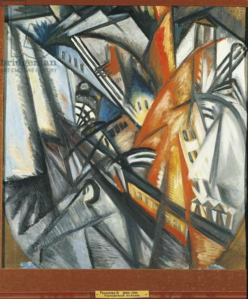 Urban Landscape, 1913-14 (oil on board)