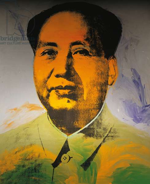Mao Zedong, 1973, by Andy Warhol (1930-1987). United States of America, 20th century.