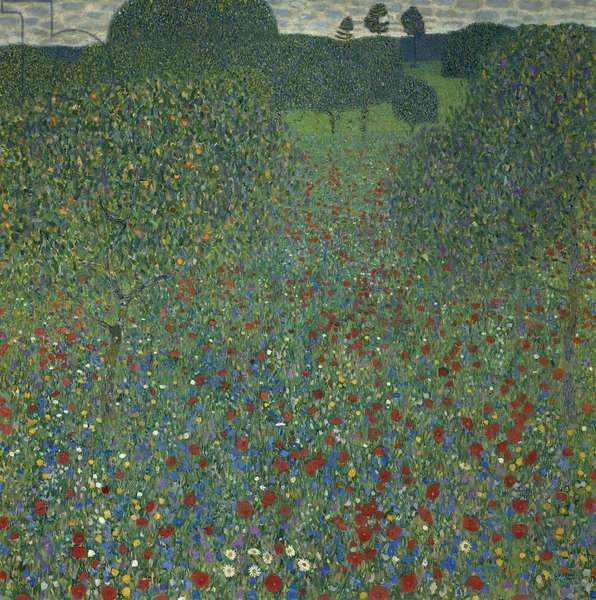 Field of poppies, 1907 (oil on canvas)