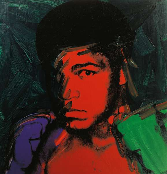 Muhammad Ali, 1978, by Andy Warhol (1930-1987). United States of America, 20th century.