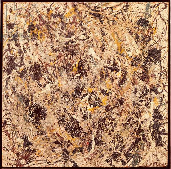 Composition, 1950, by Jackson Pollock (1912-1956). United States of America, 20th century.