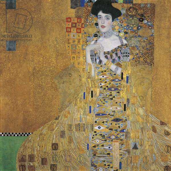 Portrait of Adele Bloch-Bauer I, 1907 (oil, silver & gold on canvas)