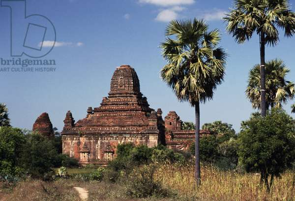 Stupas, archaeological site of Bagan (Pagan), Myanmar, 10th-13th century