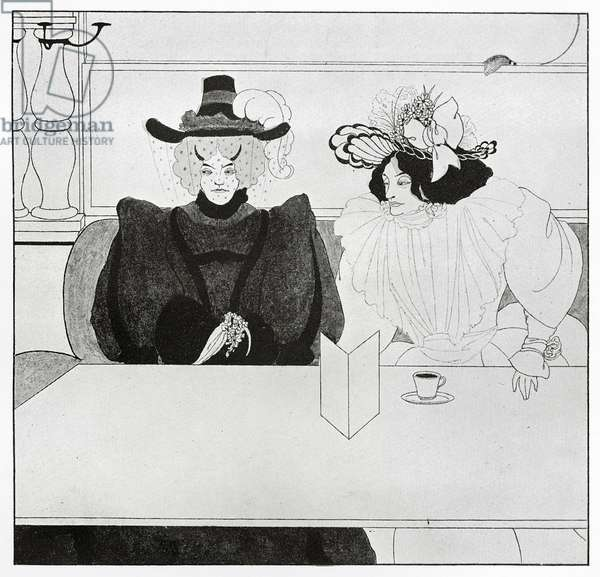 Black Coffee, 1895 (litho)
