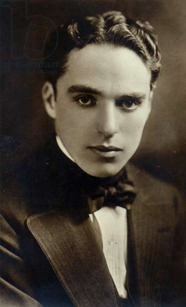 Portrait of Charlie Chaplin, c. 1918 (b/w photo)