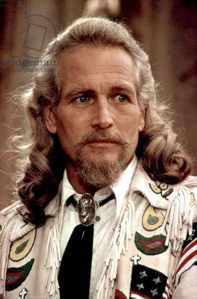 Buffalo Bill and les Indiens BUFFALO BILL AND THE INDIANS by RobertAltman with Paul Newman, 1976 (photo)
