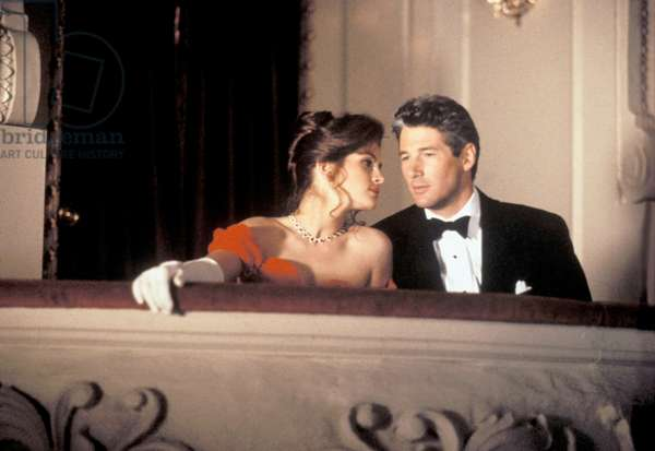 PRETTY WOMAN, 1990 DIRECTED BT GARY MARSHALL Julia Roberts and Richard Gere (photo)