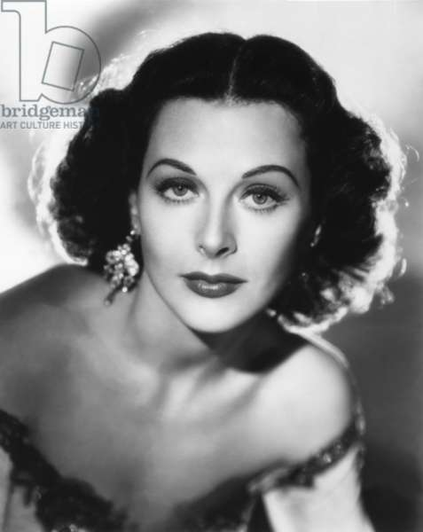 HEDY LAMARR Portrait 40's. Photo M.G.M (b/w photo)