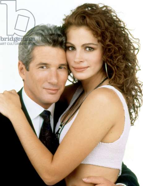 PRETTY WOMAN, 1990 DIRECTED BT GARY MARSHALL Richard Gere and Julia Roberts (photo)