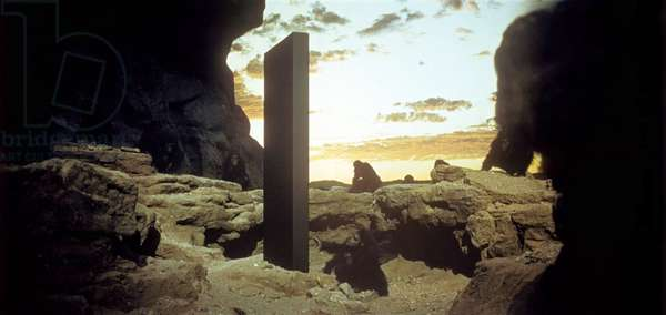 2001 l'Odyssee by l'Espace (2001 A Space Odyssey) by Stanley Kubrick, 1968 (photo)