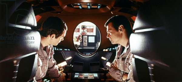 2001 A SPACE ODYSSEY directed by STANLEY KUBRICK with Gary Lockwood / keir Dullea (photo)