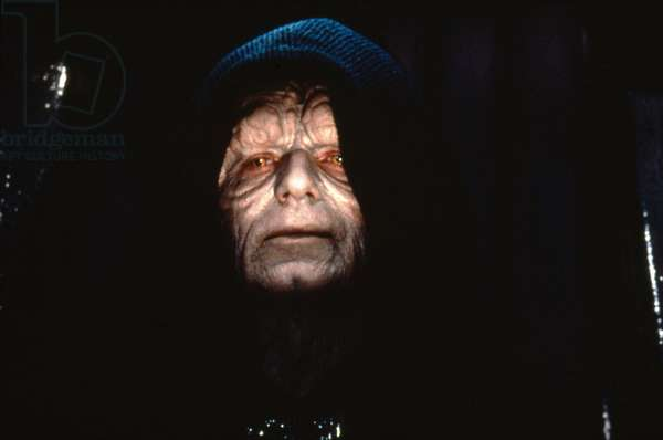 STAR WARS - RETURN OF THE JEDI, 1983 directed by RICHARD MARQUAND with Ian McDiarmid (photo)