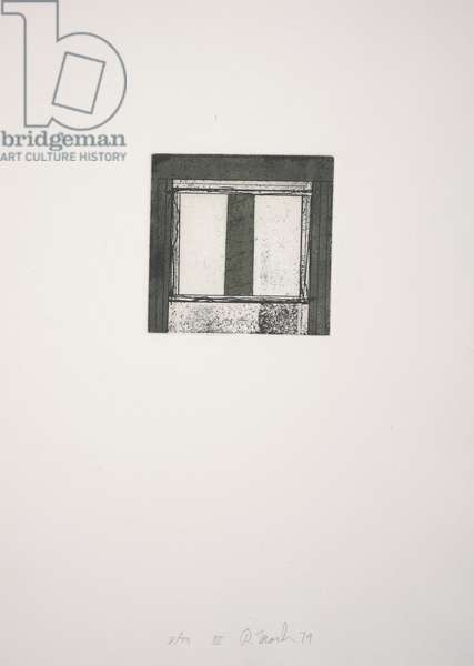 Focus III, 1979-1980 (etching, aquatint)