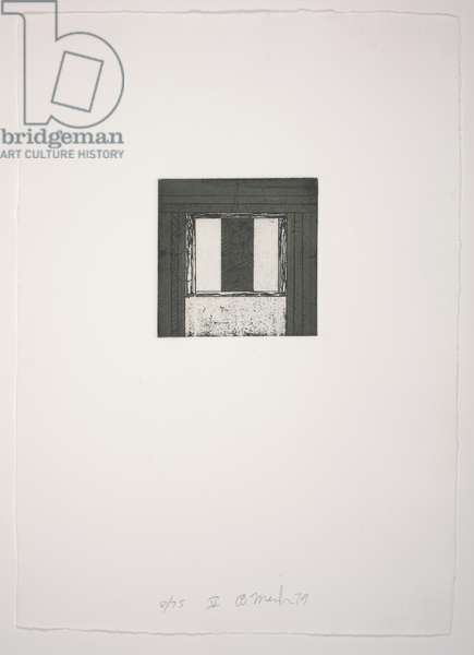 Focus V, 1979-1980 (etching, aquatint)