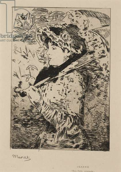Jeanne: Spring, 1882 (etching & aquatint)