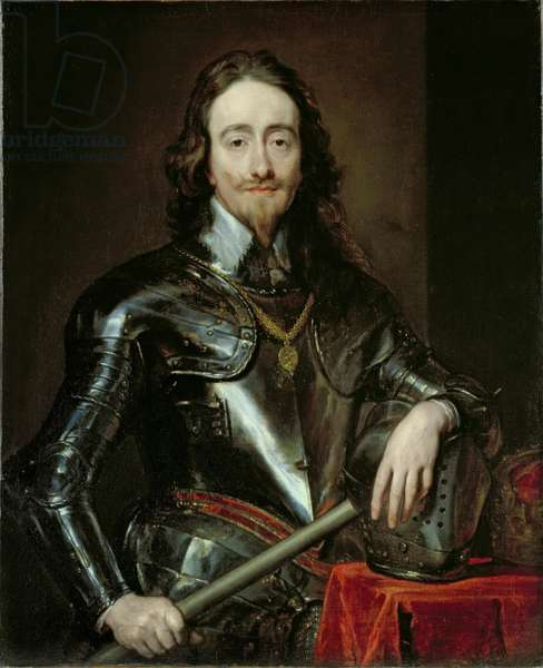 King Charles I (oil on canvas)