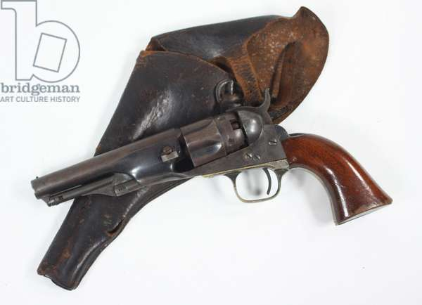 Colt Model 1862 Police Revolver Used By Lt. E. M. Burns