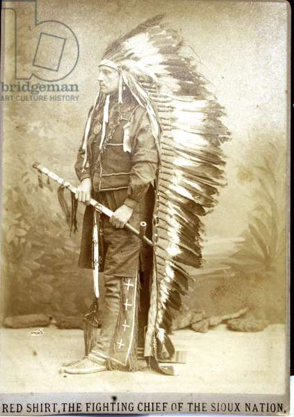 Red Shirt, Fighting Chief of the Sioux Nation