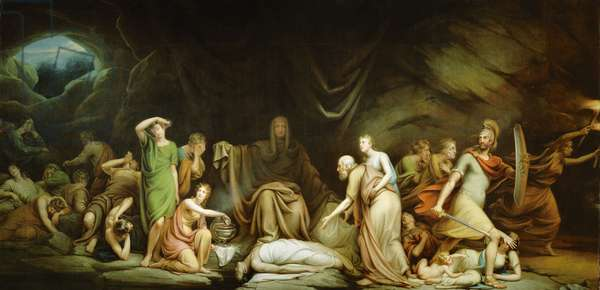 The Court of Death, 1820 (oil on canvas)