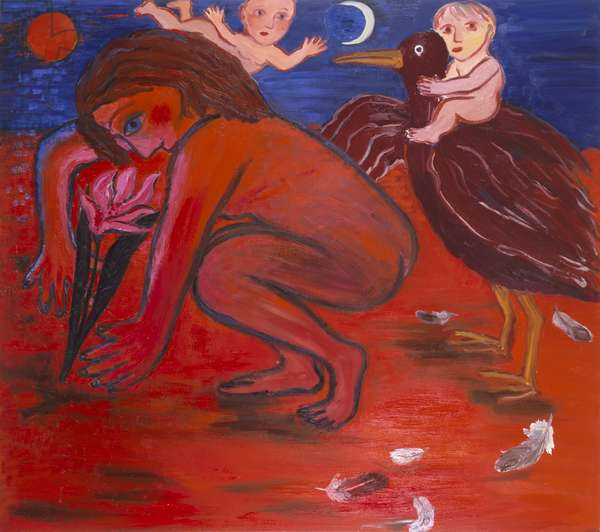 The Babies, 1987 (oil on canvas)
