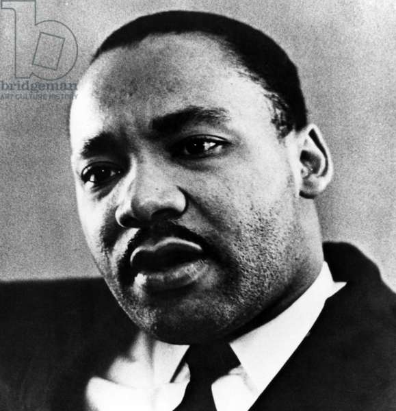 Dr. Martin Luther King Jr. (1929-1968), African American civil rights leader, c. 1960's.