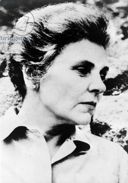 Elizabeth Bishop (1911-1979) American poet, won the 1956 Pulitzer Prize for her book, POEMS - NORTH & SOUTH