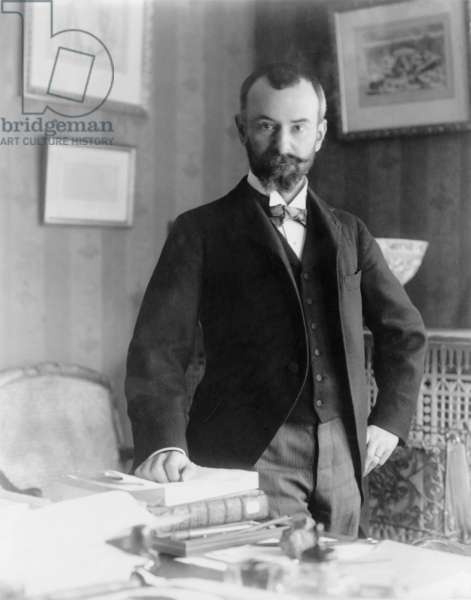 Jean Jules Jusserand (1855-1932), a French author and diplomat who won the 1916 Pulitzer Prize for his history, WITH AMERICANS OF PAST AND PRESENT DAYS