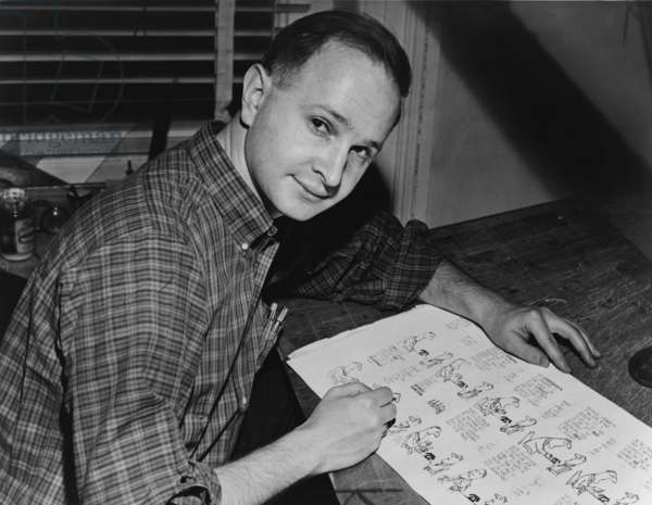 Jules Feiffer (b. 1929) American Pulitzer Prize winning cartoonist. He was also wrote plays, novels and screenplays including CARNAL KNOWLEDGE 1971