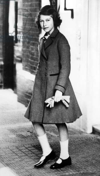 Princess Elizabeth, (the future Queen Elizabeth II), April 22, 1939.