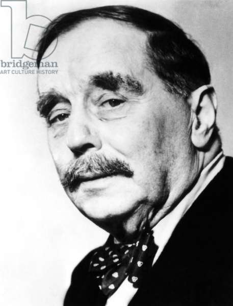 H.G. Wells, English science fiction writer, c.1930s