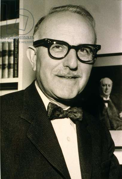 Dr. Joseph Leon Edel (1907-1997) American biographer of Henry James winning the 1963 Pulitzer Prize and a National Book Award