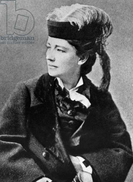 Victoria Woodhull (1838-1927), early American woman's rights leader, c.1890s