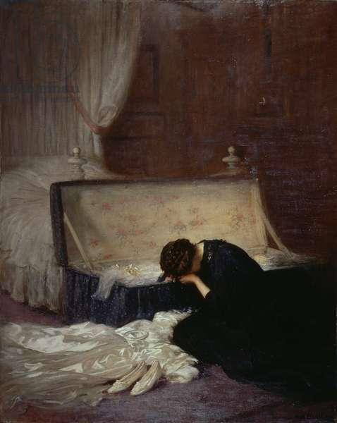 The Wedding Dress, 1911 (oil on canvas)