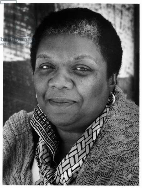 Lucille Clifton, Santa Cruz, California, 1986 (b/w photo)