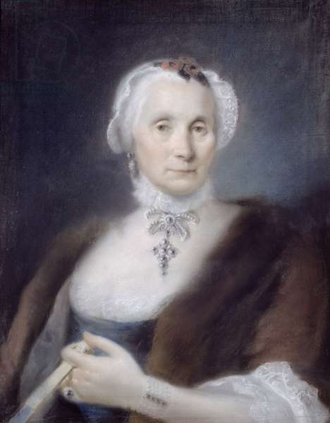 Portrait of the Artist's Mother, Cecilia Guardi, 1757 (pastel)