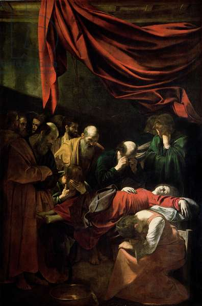The Death of the Virgin (oil on canvas)