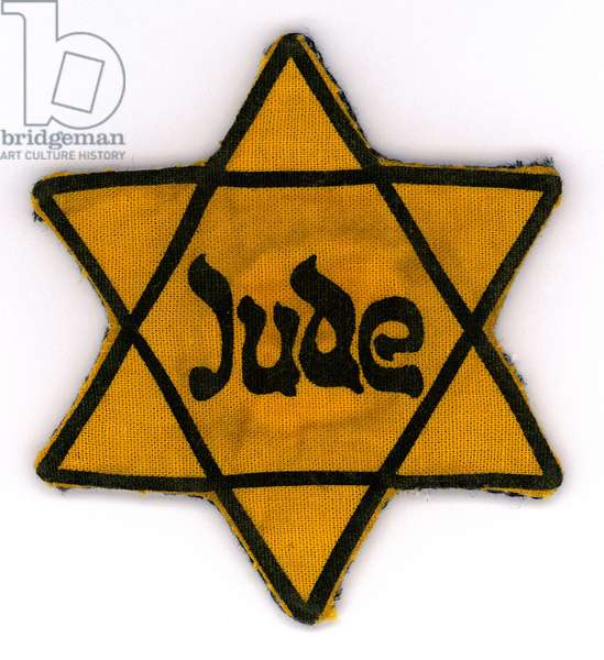 Star of David Badge, 1941 (textile)