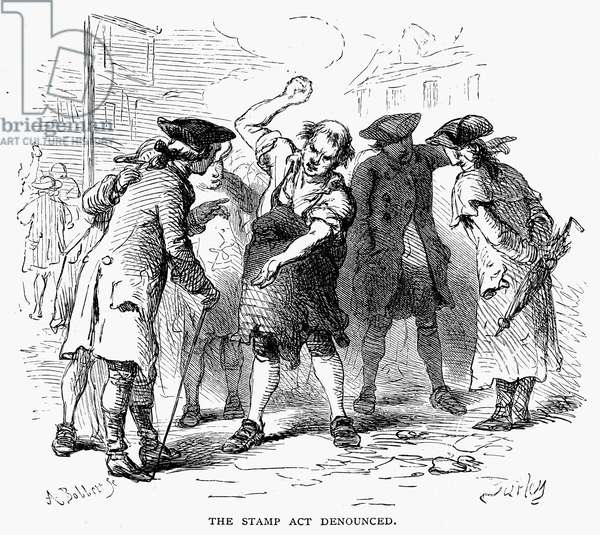 stamp act Stamp act, 1765, revenue law passed by the british parliament during the ministry of george grenville grenville, george, 1712-70, british statesman, brother of earl temple.