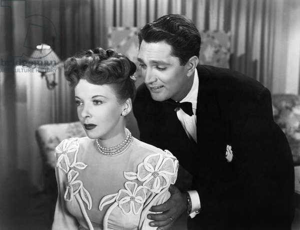 THE MAN I LOVE, 1947 Ida Lupino and Robert Alda in 'The Man I Love,' 1947.