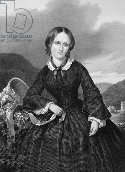 CHARLOTTE BRONTË (1816-1855). English novelist. Steel engraving, 19th century.