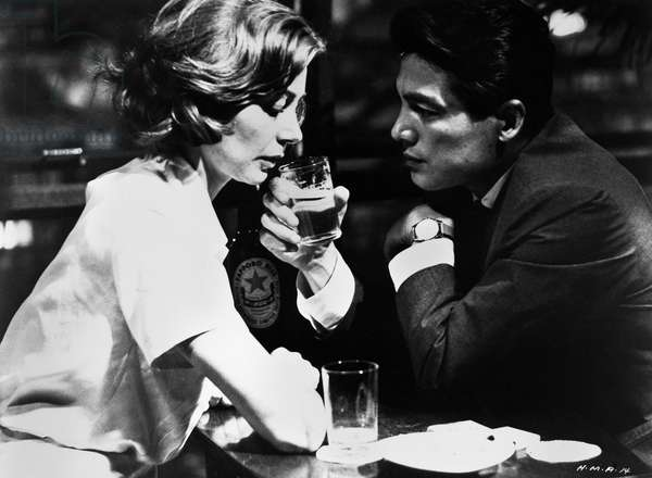 FILM: HIROSHIMA, MON AMOUR Emanuella Riva and Eiji Okada in 'Hiroshima, Mon Amour' directed by Alain Resnais, 1959.