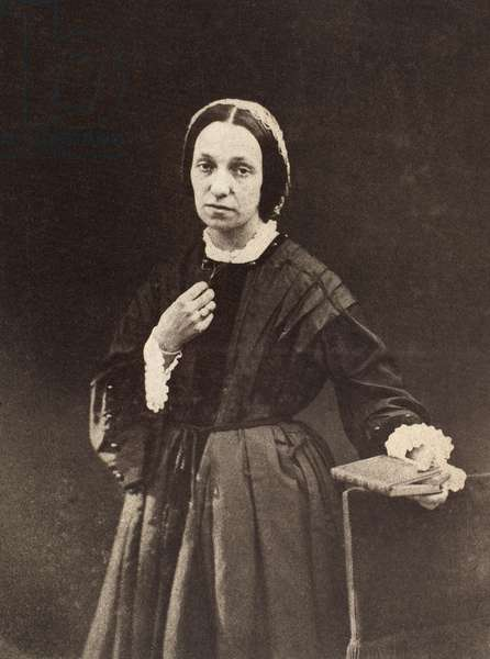 JULIA MARGARET CAMERON (1815-1876). English photographer. Photograph, c.1862-65, attributed to Lord Somers.