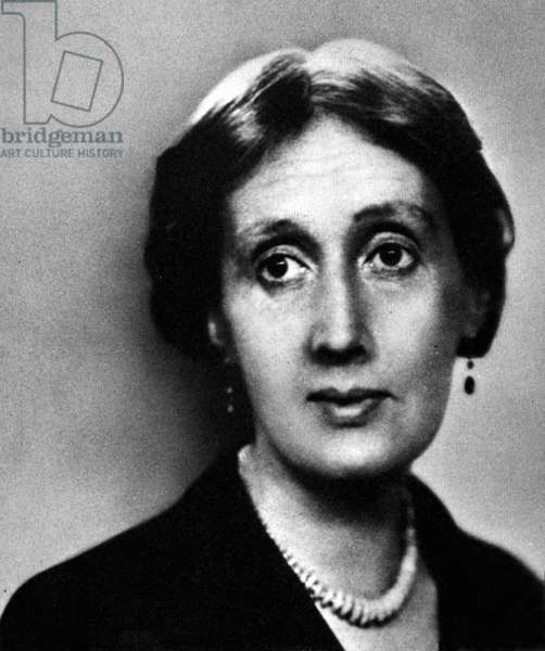 VIRGINIA WOOLF (1882-1941) English writer. Photographed in 1932.