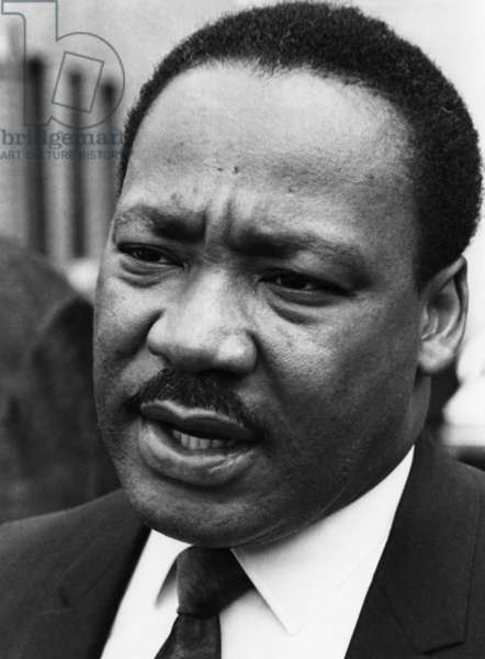 MARTIN LUTHER KING, JR (1929-1968). American cleric and reformer. Undated photograph.